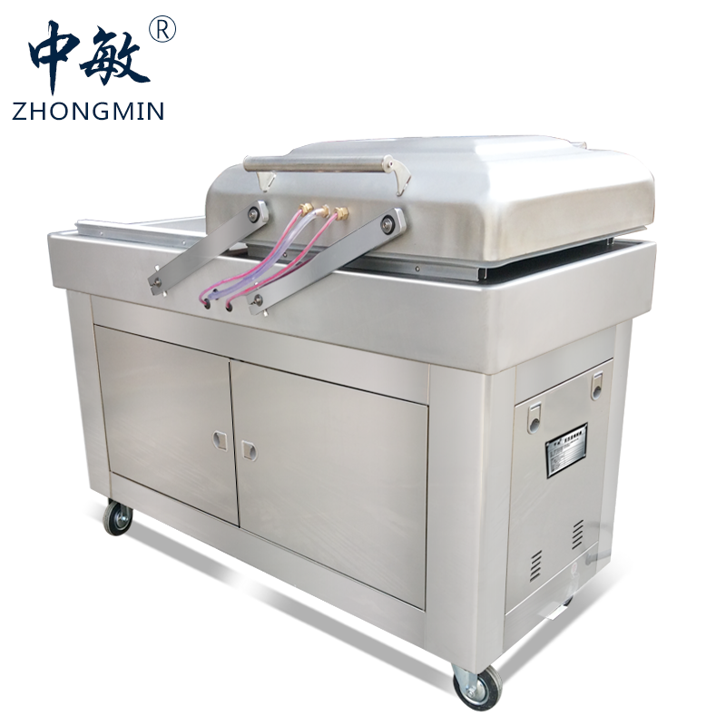 double chamber vacuum packing machine