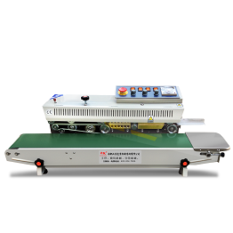 Solid ink coding continuous band sealer